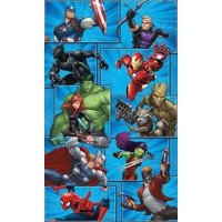 Stickerbehang Marvel RoomMates 91x152 cm