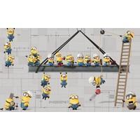 Stickerbehang Minions RoomMates 91x152 cm