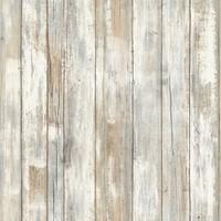 Wandsticker RoomMates Peel & Stick Decor Distressed Wood