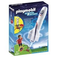 Playmobil 6187 Raket met lanceerpomp