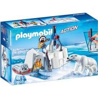 Poolreizigers met ijsberen Playmobil