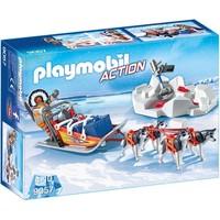 Poolreizigers met hondenslee Playmobil