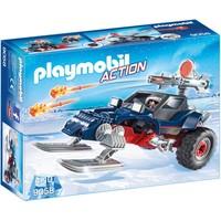 Sneeuwscooter met ijspiraat Playmobil