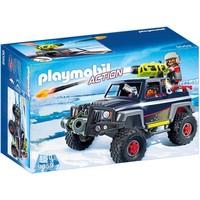 Sneeuwterreinwagen met ijspiraten Playmobil