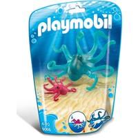 Inktvis met jong Playmobil