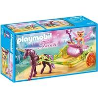 Bloemenfee met eenhoornkoets Playmobil