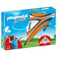 Zweefvlieger oranje Playmobil