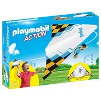 Zweefvlieger blauw Playmobil