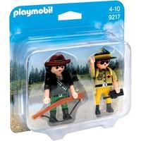 DuoPack Boswachter en stroper Playmobil