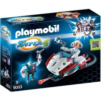 Skyjet met Dr. X & robot Playmobil