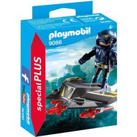 Ruimteridder met jet Playmobil