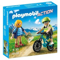 Wandelaar en mountainbiker Playmobil