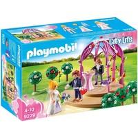 Bruidspaviljoen met bruidspaar Playmobil