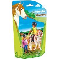 Paardrijinstructrice Playmobil