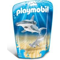 Hamerhaai met jong Playmobil