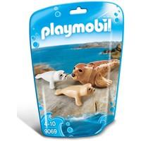 Zeehond met pups Playmobil
