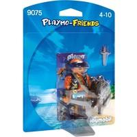 Piraat met schild Playmobil