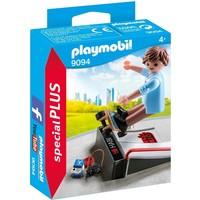 Skater met skateramp Playmobil