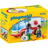 1.2.3 Ziekenwagen Playmobil