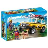 Reddingswerkers met terreinwagen Playmobil