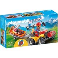 Reddingsquad met draagberrie Playmobil