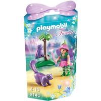 Elfje met uil en stinkdier Playmobil