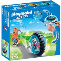 Monobike blauw Playmobil