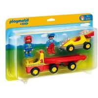 1.2.3 Racewagen met takelwagen Playmobil
