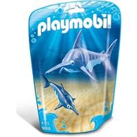 Zwaardvis met jong Playmobil