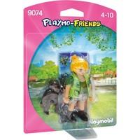 Dierenverzorger met baby gorilla Playmobil