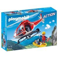 Reddingswerkers met helikopter Playmobil