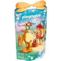 Elfje met hertenkalfjes Playmobil