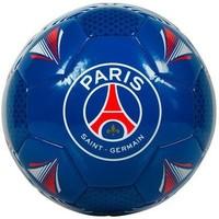 Bal Paris Saint-Germain leer groot blauw shiny