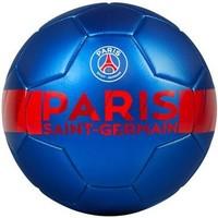 Bal Paris Saint-Germain leer groot blauw metallic