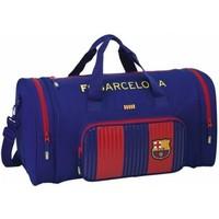 Sporttas barcelona rood/blauw classic : 55x27x26 cm
