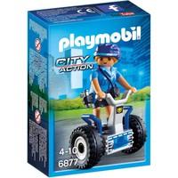 Politieagente met balans racer Playmobil