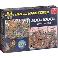 Puzzel Jan van Haasteren The Reception 500/1000 stukjes