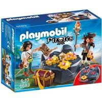 Playmobil 6683 Koninklijke schatkist met piraat
