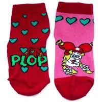 Kabouter Plop Sokken 2-pack roze