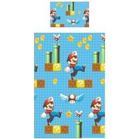 Dekbedovertrek Nintendo Mario 140x200/50x75 cm