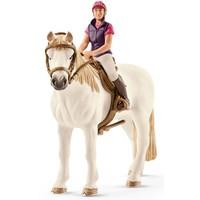 Amateur Ruiter met Paard Schleich