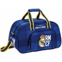 Sporttas real madrid blauw RMCF 40x25x23 cm