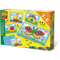 Mozaiekbord met kaarten SES