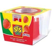 Klei SES: rood met aardbeiengeur 90 gram