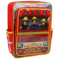 Rugzak Brandweerman Sam: 32x24x14 cm