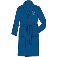 Badjas Ajax blauw met wit logo