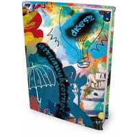 Boekenkaft rekbaar Dresz A4 Street Art