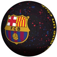Bal barcelona straat zwart logo mes que