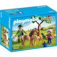 Dierenarts met pony´s Playmobil