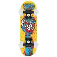 Skateboard Osprey/Xootz mini geel 43 cm/608z